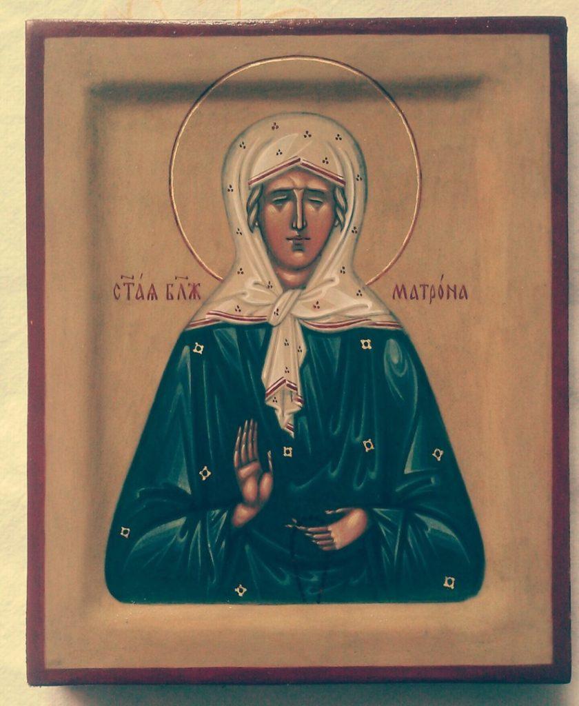 Сильные молитвы Матроне Московской - Православные иконы и молитвы