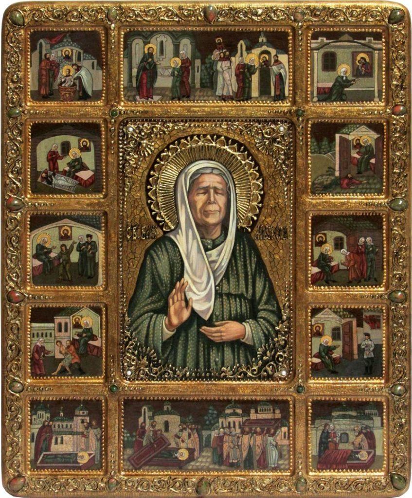 Молитва святой матроне в переводе