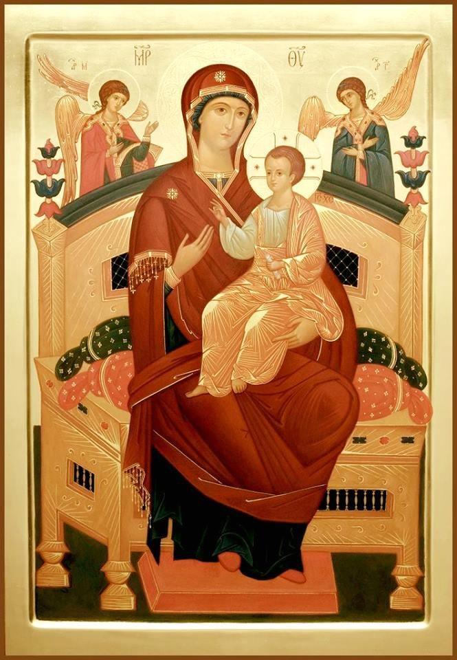 Молитва матерь божье всецарице