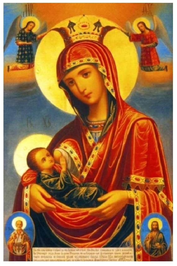 """Икона Божией Матери """"Млекопитательница"""": история, значения, в чем помогает и как молиться"""