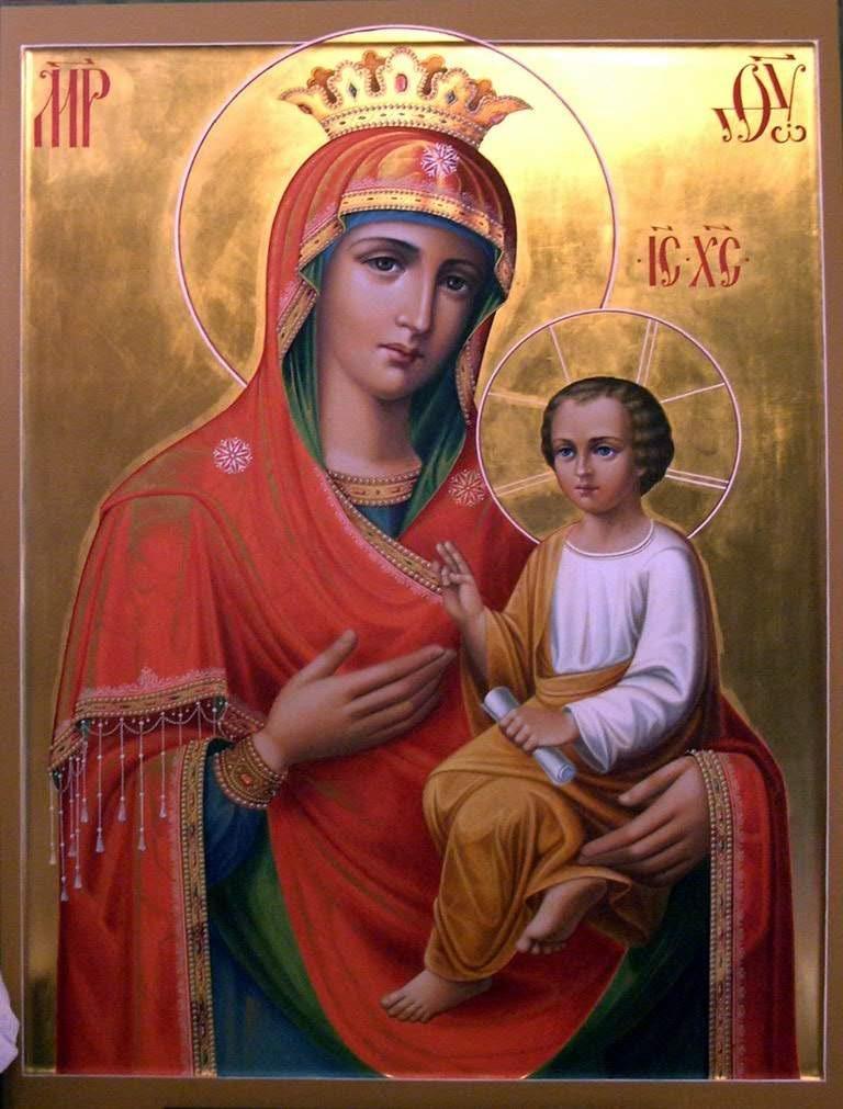 Молитва матери божьей список