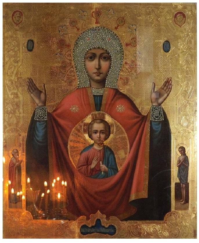 """Икона Божией Матери """"Знамение"""": история, значения, в чем помогает и как молиться"""