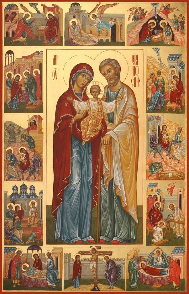 Молитва матери божьей мужа в семью вернуть