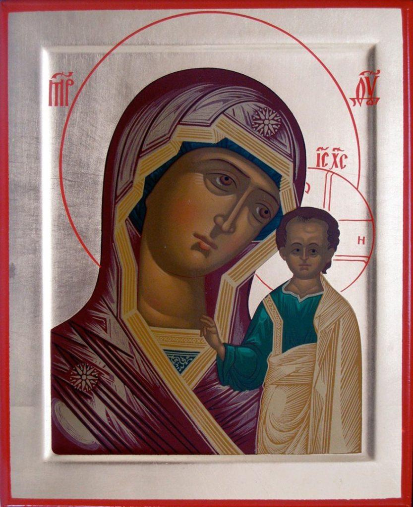 Молитва казанской божьей матери и николаю чудотворцу