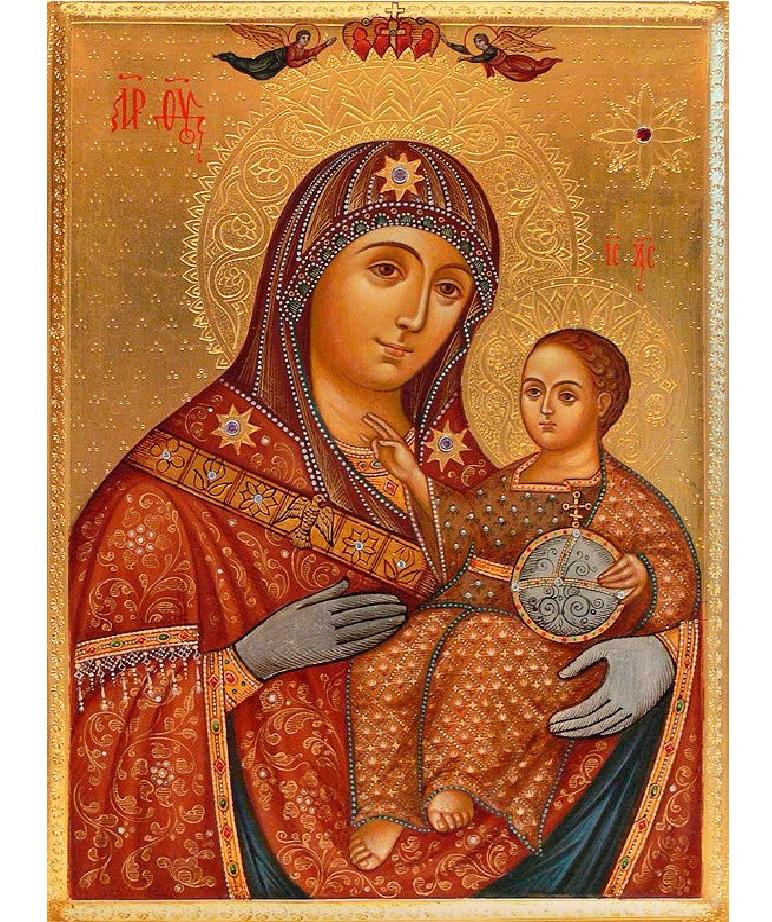 Икона мария с младенцем молитва