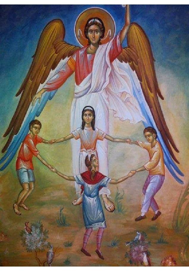 Молитва матери о детях к иконе ангела хранителя