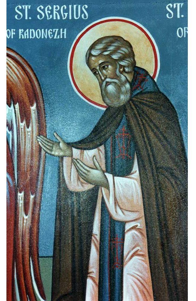 Значение иконы преподобного Сергия Радонежского и в чем помогает