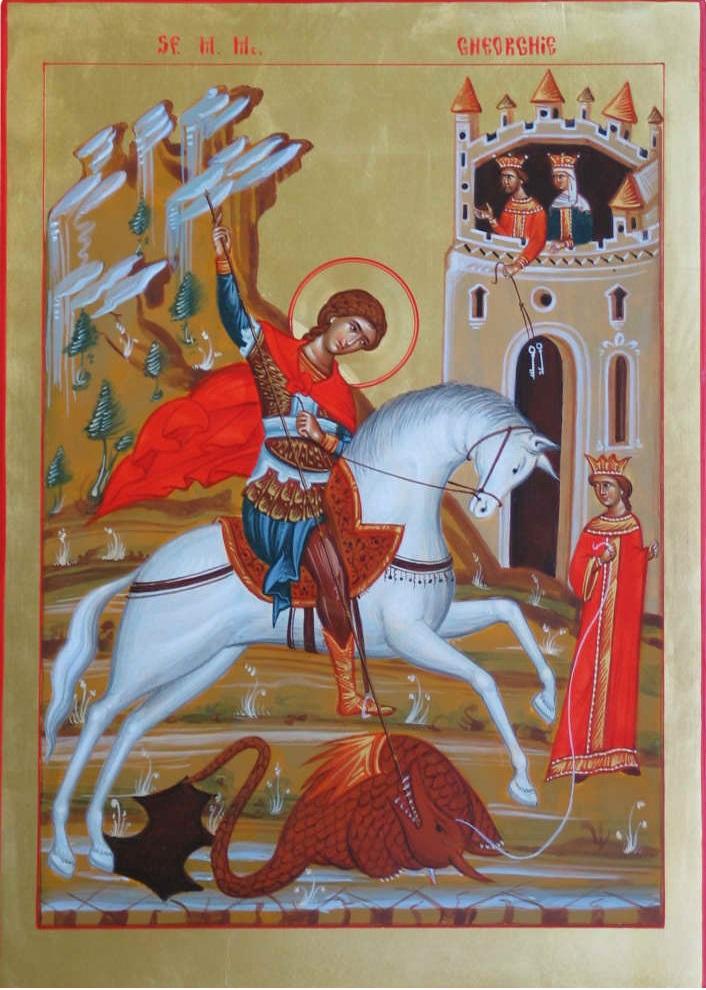 Святой георгий победоносец покровитель молитва на сайте: молитва-богу.рф
