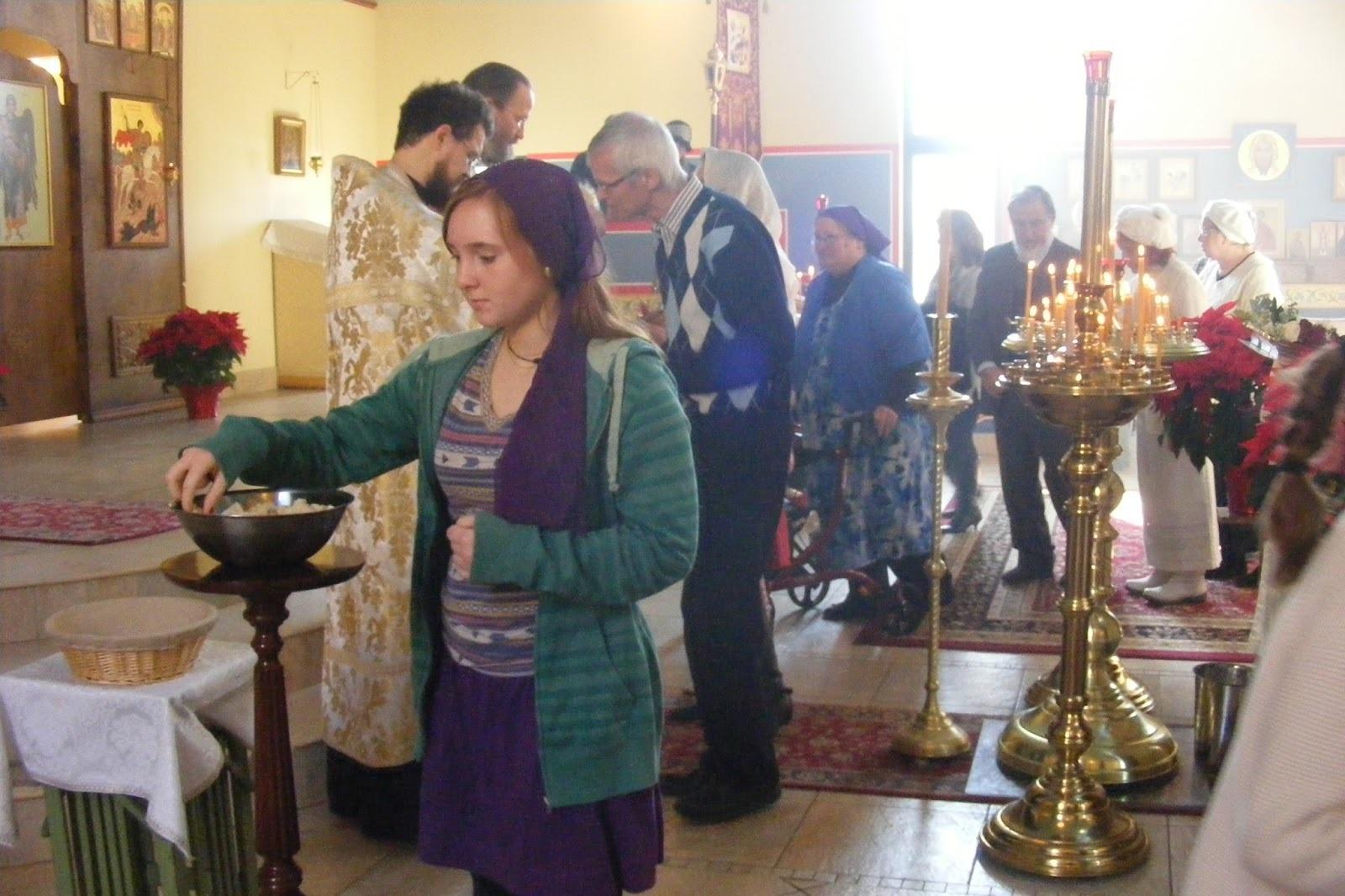Молитва перед принятием святой воды