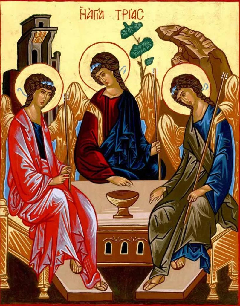 О чем молятся святой троице