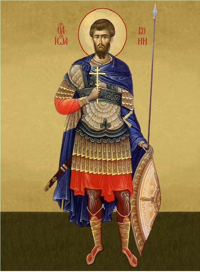 Иоанн воин молитва при потере