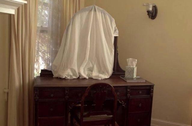 Когда открывать зеркала после похорон?